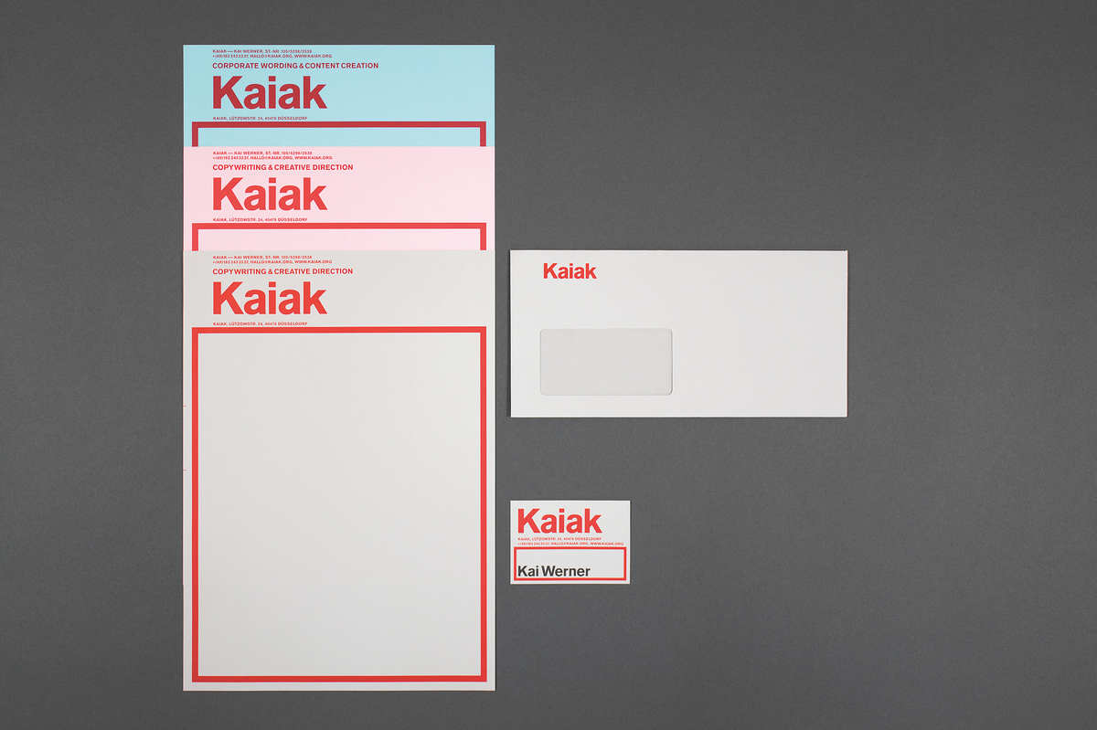 Corporate Design Dã¼Sseldorf | Kaiak Design Agentur Dusseldorf
